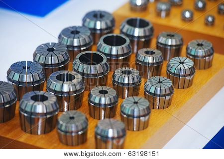 part of cutting and drilling industrial machines