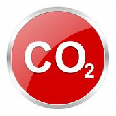 picture of carbon-dioxide  - carbon dioxide icon - JPG