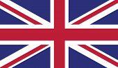 image of british culture  - United Kingdom flag vector illustration - JPG