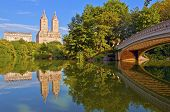 Central Park and Bow Bridge, Manhattan New York