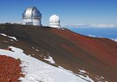 Observatory on Mauna Kea Summit, Hawaii