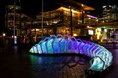 Work of art for Vivid festival, Sydney
