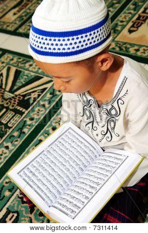 Child Reading Koran