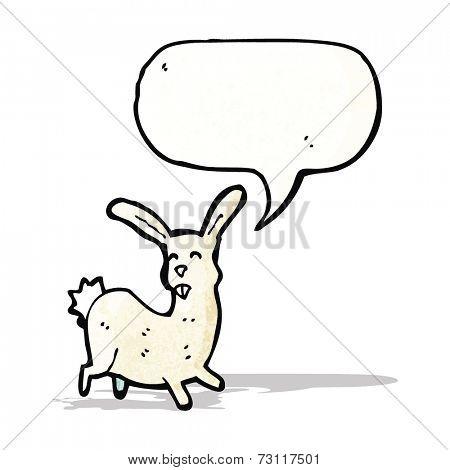 cartoon hare