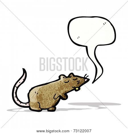 squeaking cartoon mouse