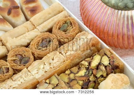 Tray Of Baklava