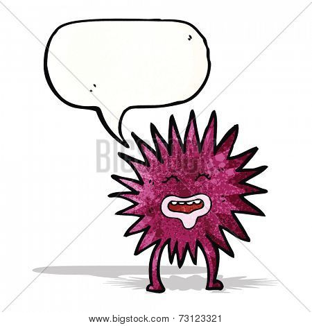 cartoon sea anemone
