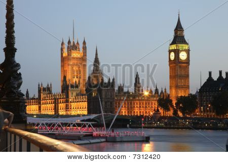 Houses Of Parliament At Westminster Palace