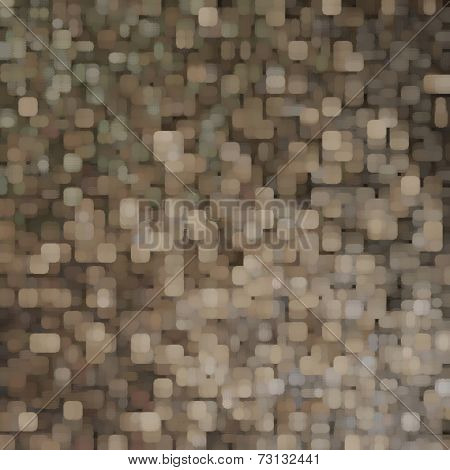 art abstract pixel geometric  pattern background in grey, beige and brown colors