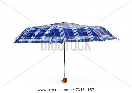 an open umbrella on a white background