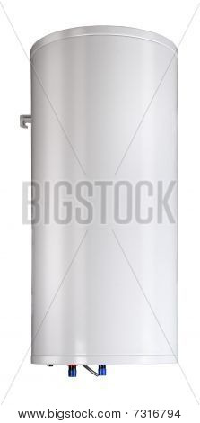 Gas Boiler Isolated On A White Background. Including Clipping Path