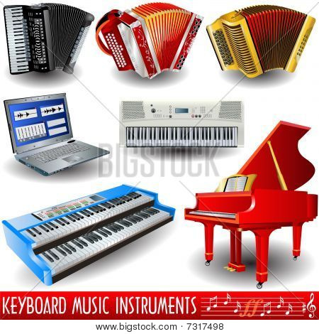 keyboard musical instruments