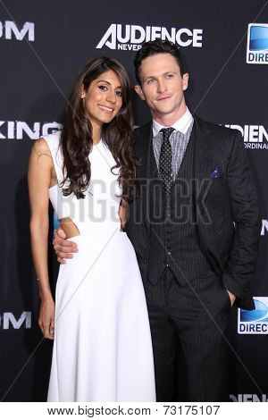 LOS ANGELES - OCT 1:  Tara Ahamed Tucker, Jonathan Tucker at the