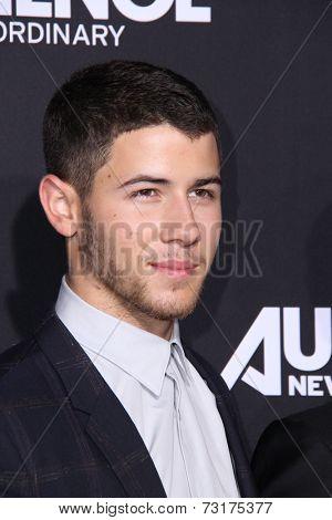 LOS ANGELES - OCT 1:  Nick Jonas at the