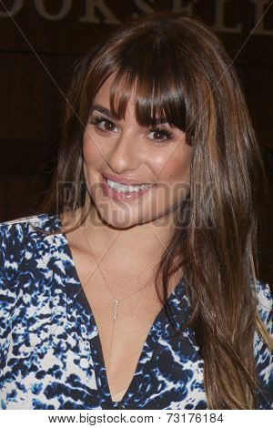 LOS ANGELES - MAY 22:  Lea Michele at the