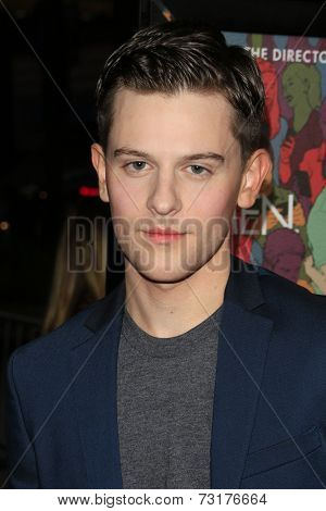 LOS ANGELES - SEP 30:  Travis Tope at the