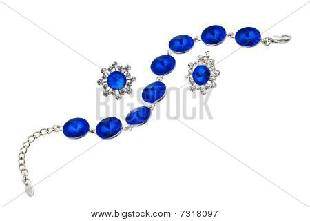 Bracelet With Blue Gen