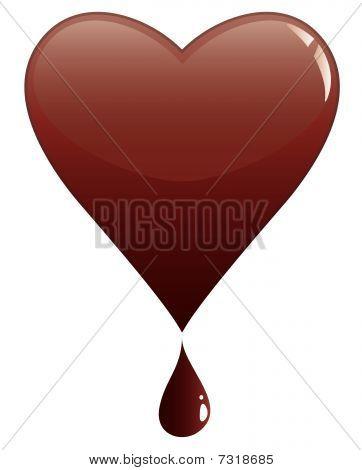 Schokolade Herzen