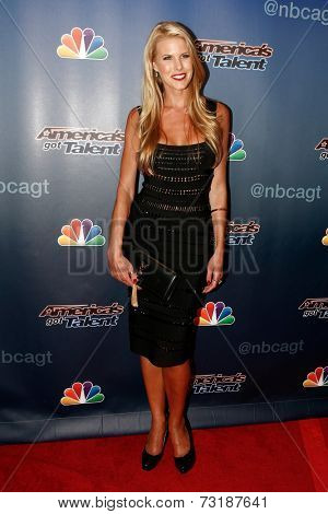 NEW YORK-SEP 17: Model Beth Ostrosky attends the post-show red carpet of America's Got Talent: The Finale Season 9 at Radio City Music Hall on September 17, 2014 in New York City.