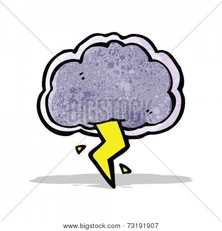 thundercloud cartoon character