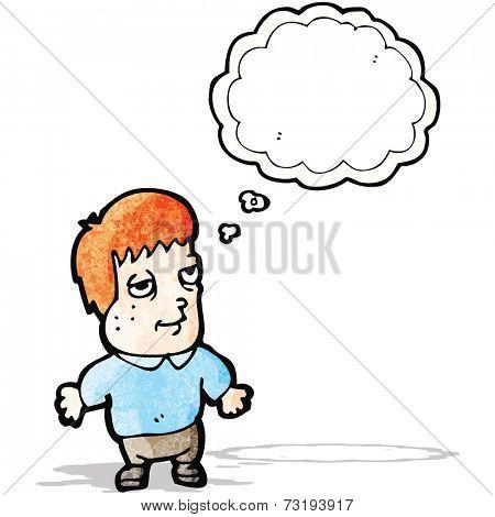 cartoon ginger boy
