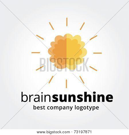 Key ideas is ideas, brainshtorm, creative ideas, smart. Concept for corporate identity and branding