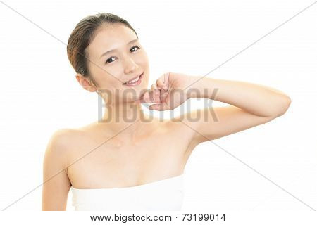 Woman who are relaxed