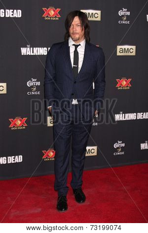 LOS ANGELES - OCT 2:  Norman Reedus at the