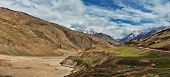 stock photo of himachal pradesh  - Himalayan landscape panorama - JPG