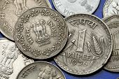 picture of ashoka  - Coins of India - JPG