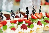 stock photo of catering  - Close - JPG