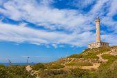 foto of manga  - Cabo de Palos lighthouse near Manga Mar Menor Murcia at Spain - JPG