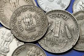 foto of ashoka  - Coins of India - JPG