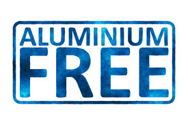 pic of deo  - An image of an Aluminium free sign - JPG