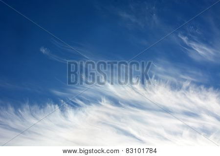 Daytime Sky With Stratus Clouds