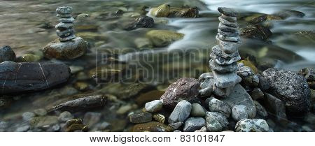 Stones Near The River