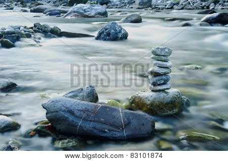 Stones On The River