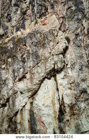 Scary Limestone Rock Wall