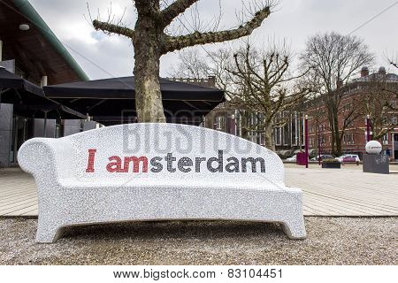 I Amsterdam City Urban Furniture Welcome Sign