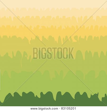 Green Grass Valley Abstract Natural Environmental Background