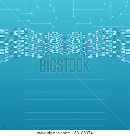 Abstract Computer Background Vector