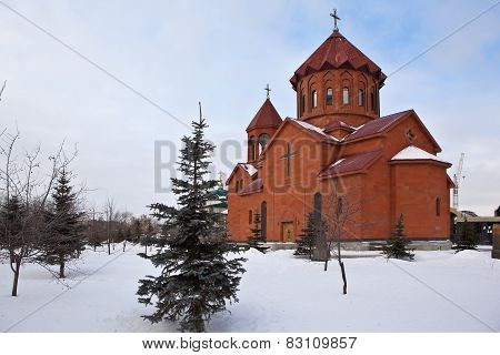 Ekaterinburg. St. Garabed Armenian Church.