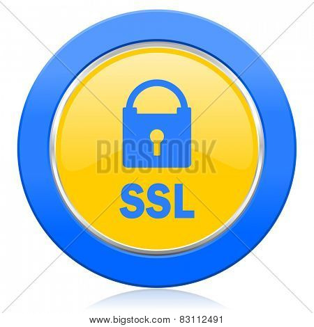 ssl blue yellow icon
