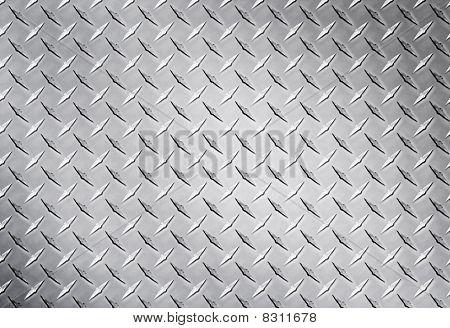 Silver diamond texture