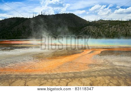 A Grand Prismatic Spring