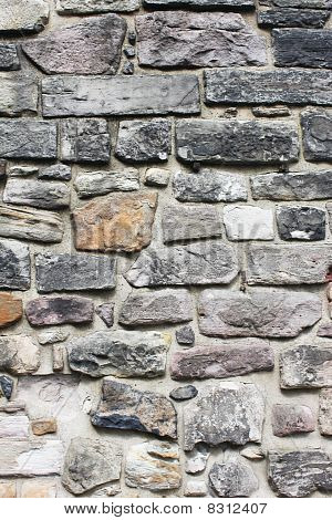 An Abstract Castle Stone Wall Background