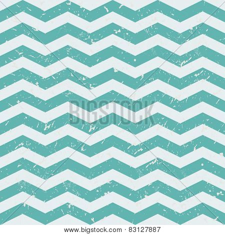 Seamless  ZigZag Chevron Pattern. Grey and blue vector background