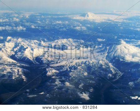 Mt St Hellens Mt Adams