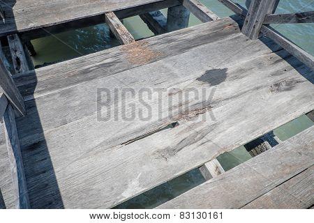 Damaged Boardwalk