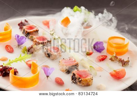 Molecular dish